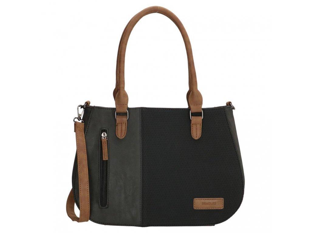 Dámska kabelka Beagles Brunete - čierna