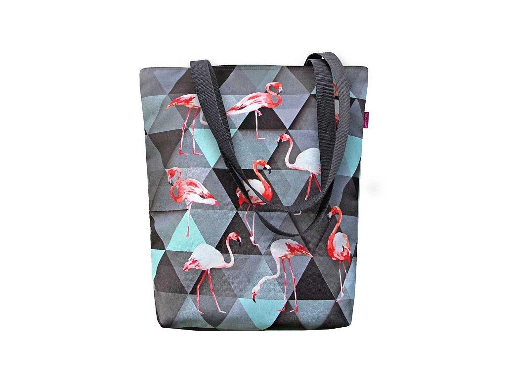 Designová taška na rameno Sunny - Flamingo