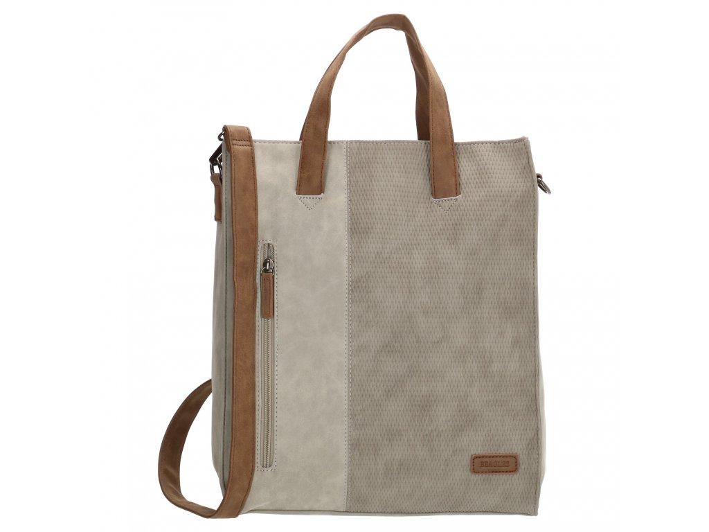 Dámska taška shoperka Beagles Brunete - sivá