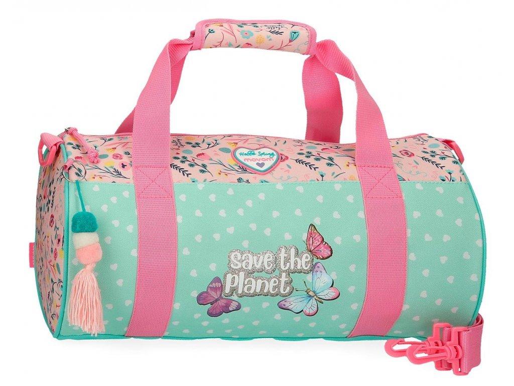 Cestovná taška Movom SAVE THE PLANET
