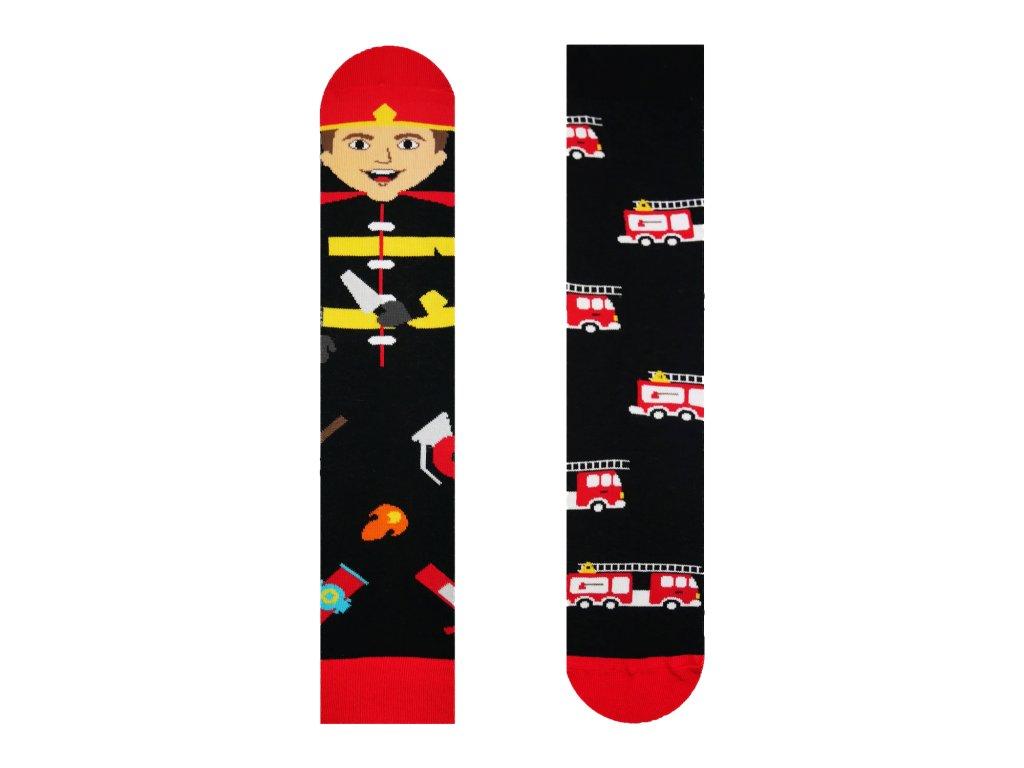 Veselé ponožky Hasič Požiarnik