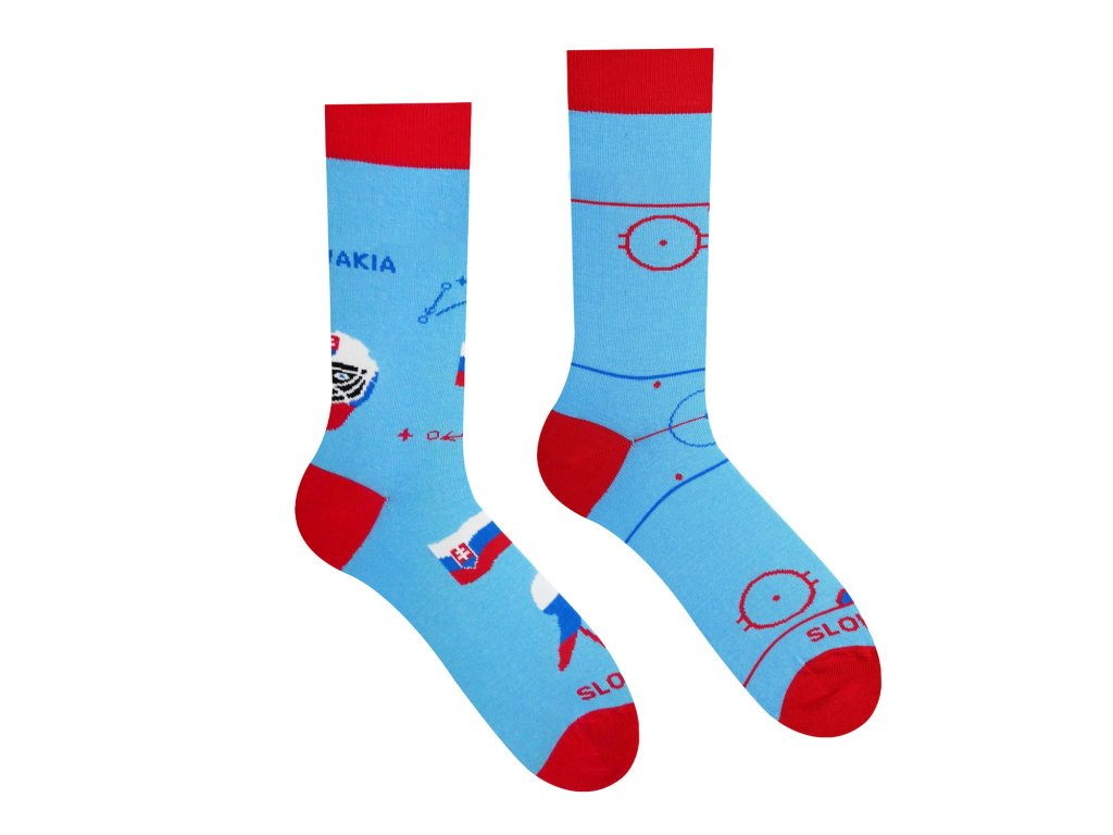 vesele ponozky hokej slovensko hokejista brankar