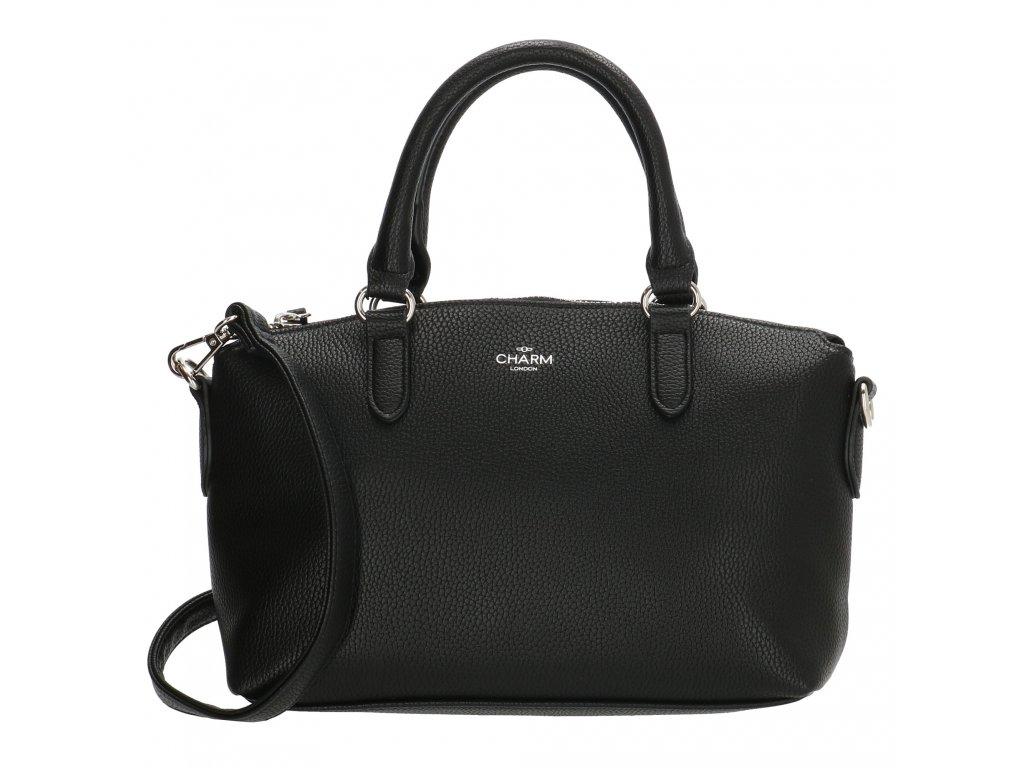 Menšia elegantná kabelka Charm LONDON STRATFORD - čierna