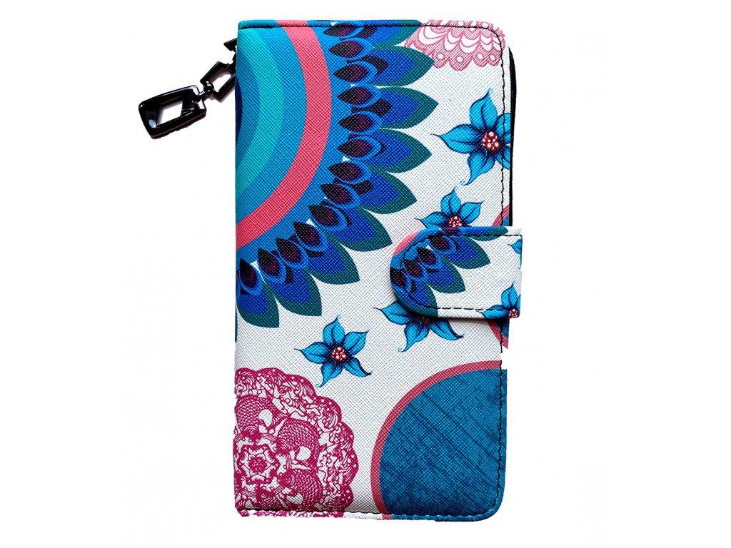Dizajnová peňaženka Floral Mood