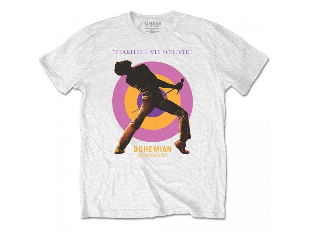 Biele pánske tričko Bohemian Rhapsody