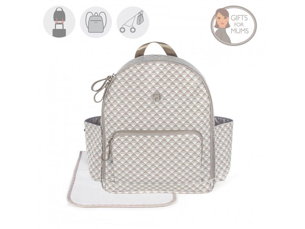 Luxusný prebaľovací batoh na kočík Pasito & Pasito 16L