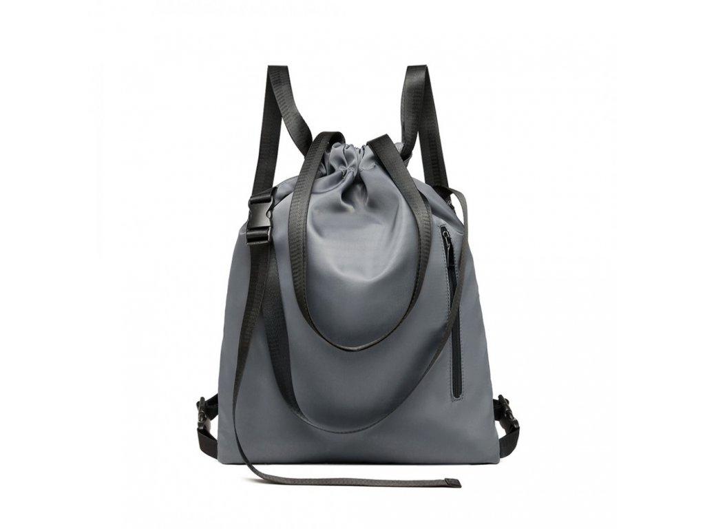 Multifunkčná taška/vak KONO Commander - sivá