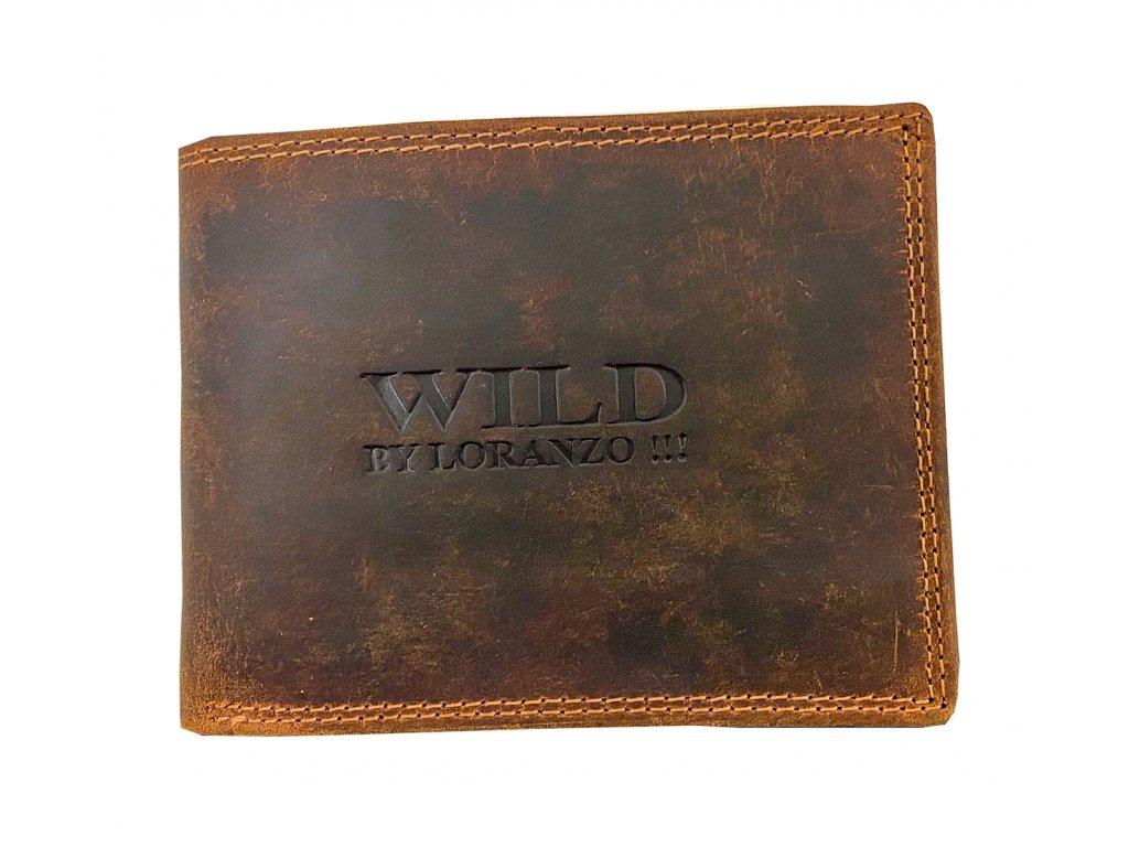 Kožená peňaženka Wild by Loranzo Nature