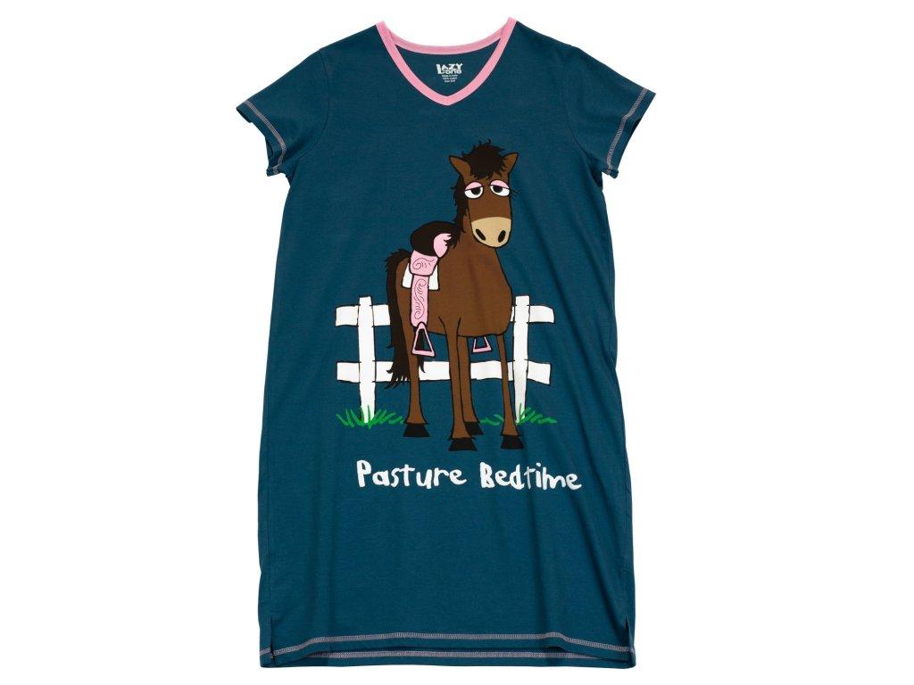 Dámska nočná košeľa Kôň