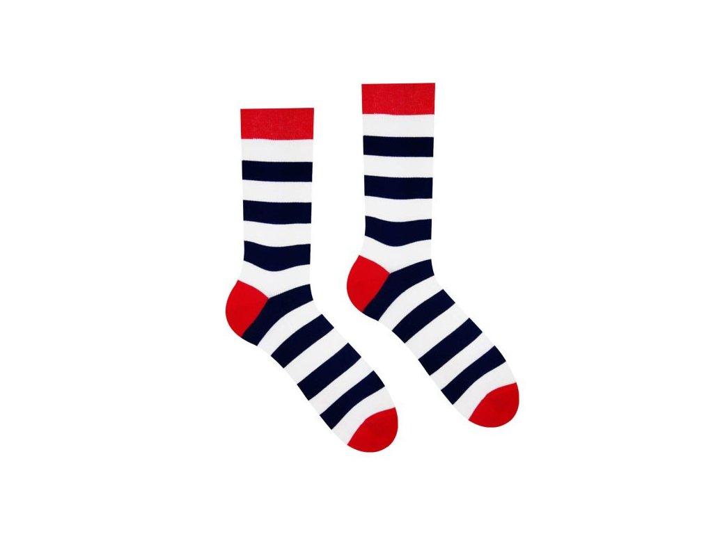 Veselé ponožky Námorník dlhý