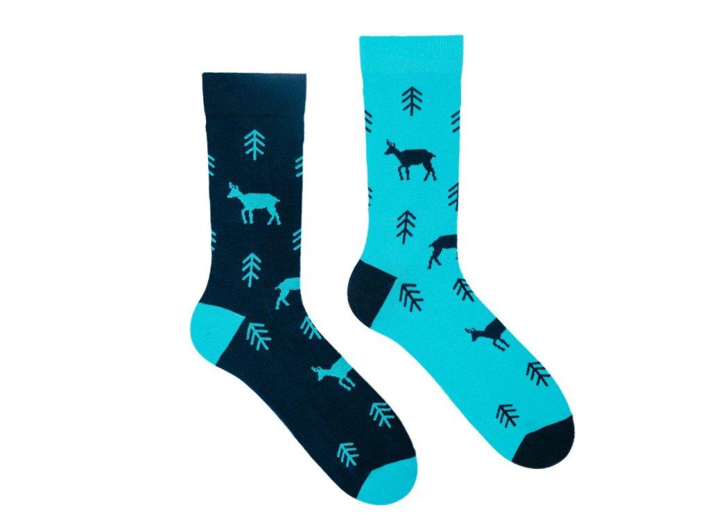 Veselé ponožky Kamzík