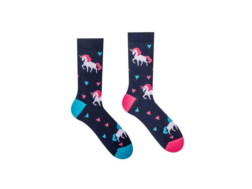 Veselé ponožky Unicorn
