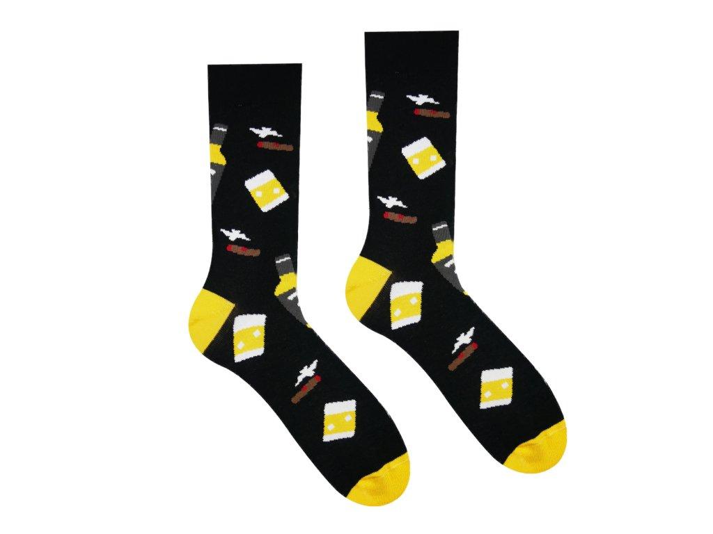 Veselé ponožky Whisky