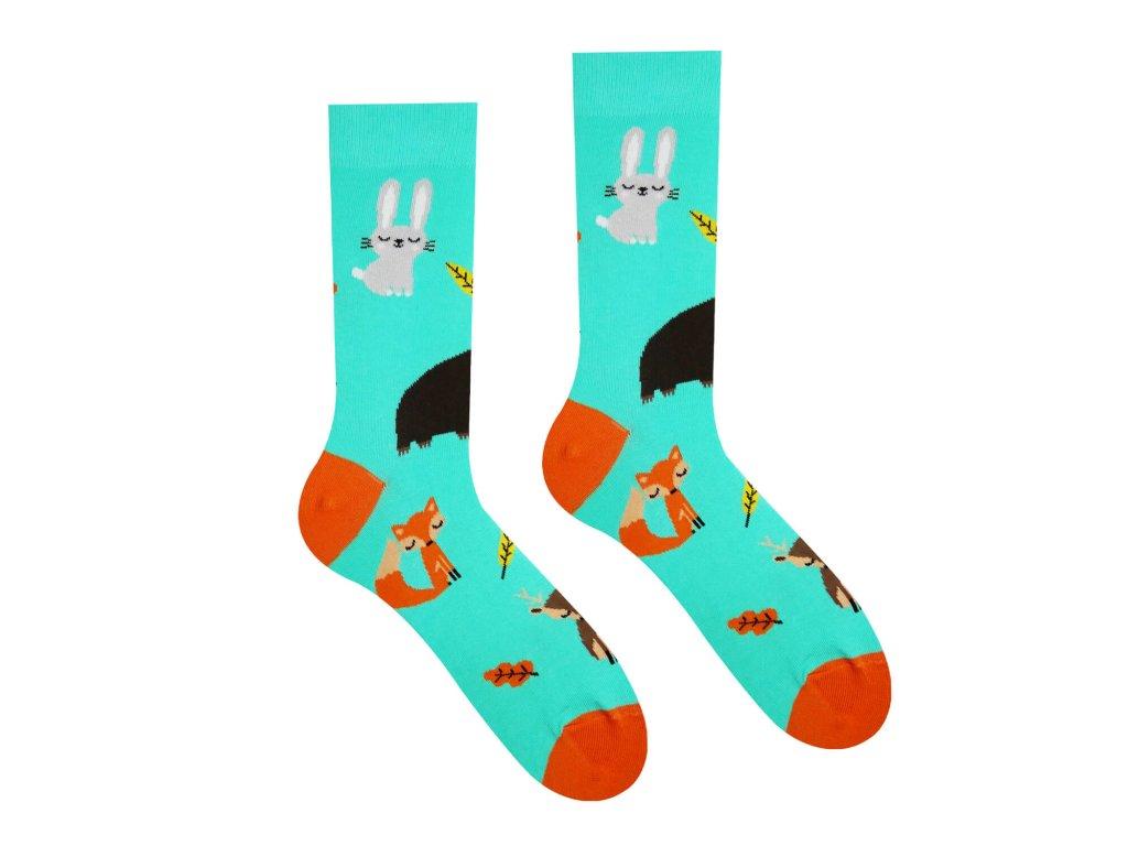 Veselé ponožky Zvieratká