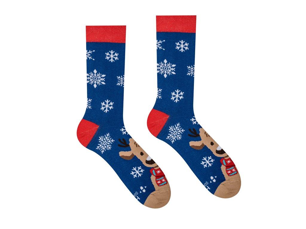 Veselé ponožky Sob