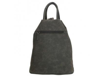 Dámsky trojuholníkový batoh Beagles Alcobendas - čierny