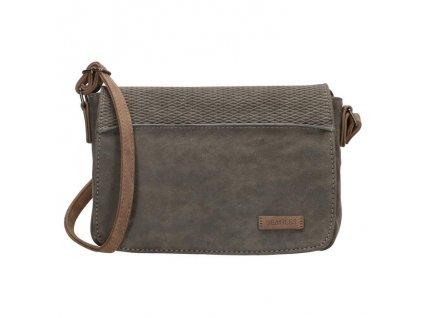 Malá kabelka crossbody Beagles brunete - sivá