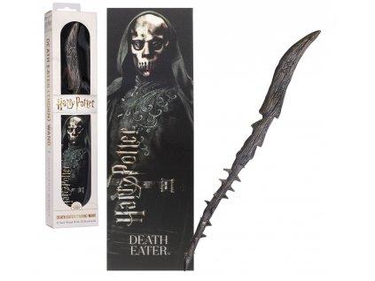 Originálny kúzelnícky prútik Death eater - dementor 30 cm + 3D záložka