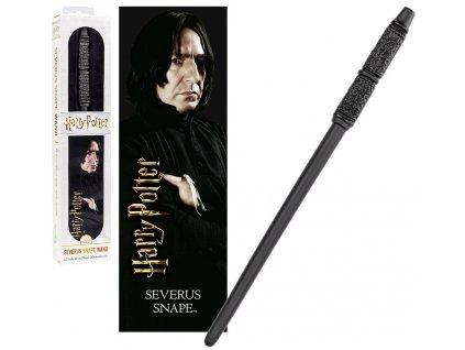 Originálny kúzelnícky prútik Severus Snape 30 cm + 3D záložka