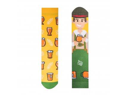 Veselé ponožky Pivár