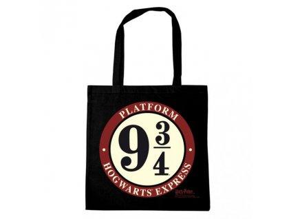 Harry Potter nákupná plátená taška - Nástupište 9 3/4he