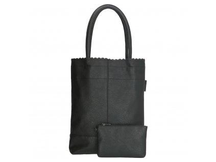 Dámska taška shoperka Beagles Xeraco - čierna
