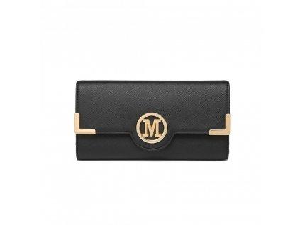 Dámska elegantná peňaženka Miss Lulu Venice - čierna