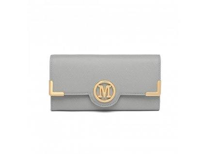 Dámska elegantná peňaženka Miss Lulu Venice - sivá