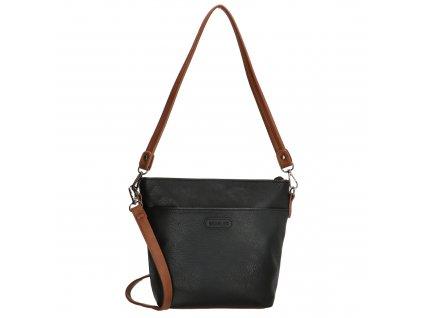 Elegantná dámska crossbody kabelka Beagles Xornes - čierna