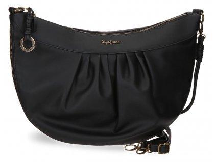 Dámska kabelka na rameno Pepe Jeans Iria čierna
