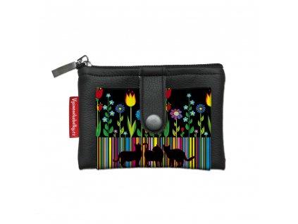 Dizajnová kľúčenka/peňaženka Folk