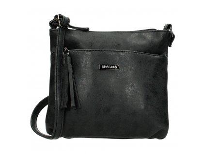 Dámska menšia crossbody taška Beagles La Costera - čierna