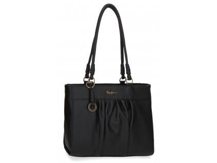 Dámska kabelka na rameno Pepe Jeans IRIA - čierna