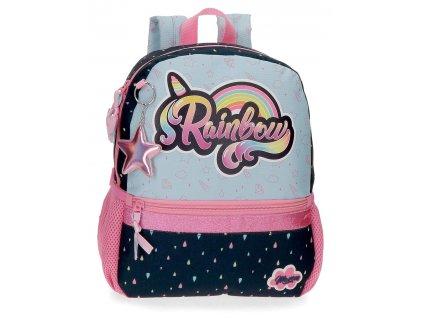 Predškolský batoh Movom Rainbow small - 8,6L