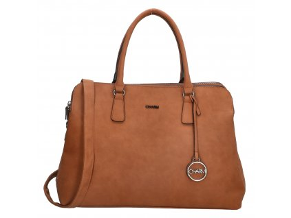 Biznis taška na notebook Charm London Bromley - koňaková