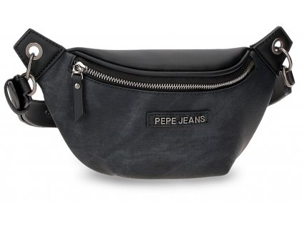 Dámska dizajnová ľadvinka Pepe Jeans JINA - čierna