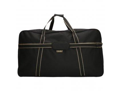 Cestovná maxi taška Run Away Basic - čierna