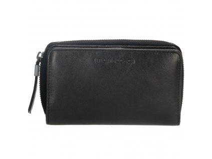 Dámska kožená peňaženka Micmacbags - čierna