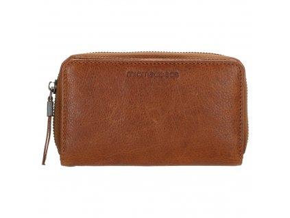 Dámska kožená peňaženka Micmacbags - hnedá