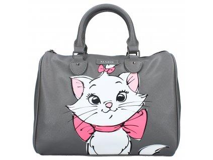 Dievčenská kabelka Disney Marie 12L - sivá
