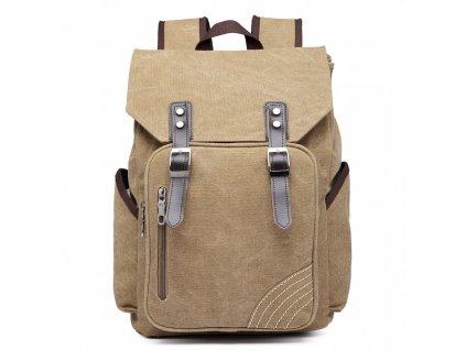 Pánsky batoh na 14/15 palcový notebook - khaki