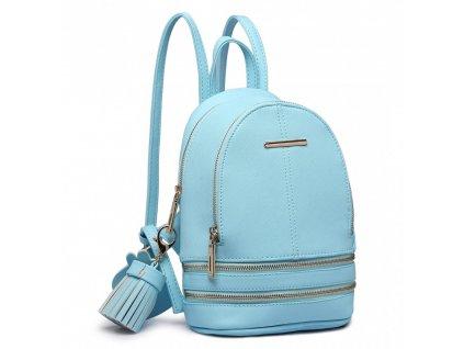 Roztomilý dizajnový batôžtek - modrý