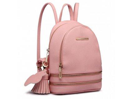 Roztomilý dizajnový batôžtek - ružový