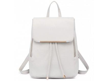 Elegantný dámsky ruksak - Biely 6e74766de9