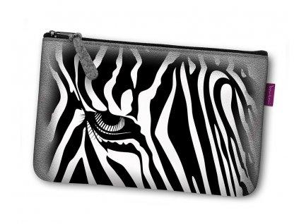 Kozmetická eko taška Zebra