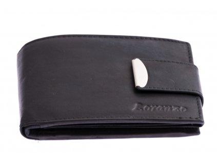 Pánska peňaženka s prackou - čierna