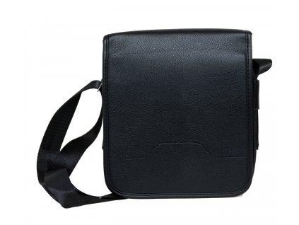 Elegantná pánska taška - čierna - menšia