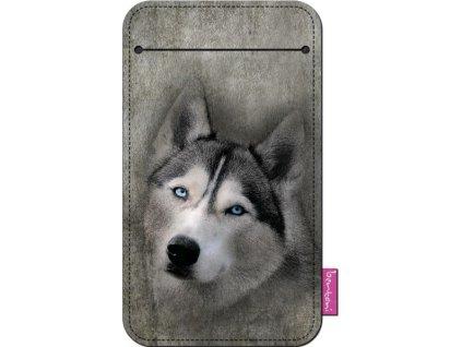 Štýlové puzdro na mobil - Husky