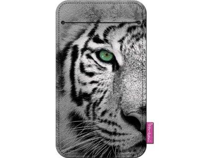Štýlové puzdro na mobil -Tiger