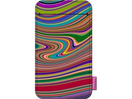 Štýlové puzdro na mobil - Vlna
